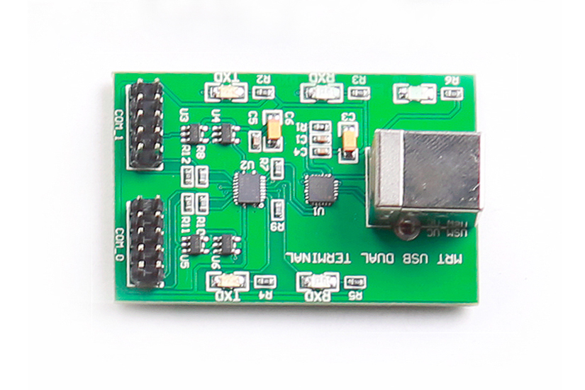 Dual-Core USB-to-UART Adapter