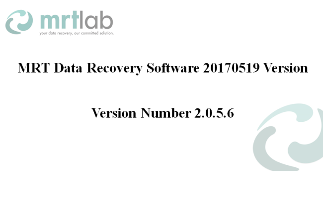 MRT Data Recovery Software Updated on May 19th, 2017